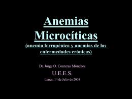 Anemias Microcíticas