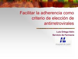 Facilitar la adherencia como criterio de elección