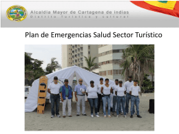 Plan de Emergencias Sector Turístico