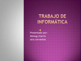 Mapa conceptual Mapa de ideas GRÁFICOS POLARES O
