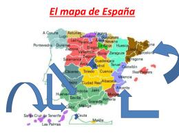 El mapa de España