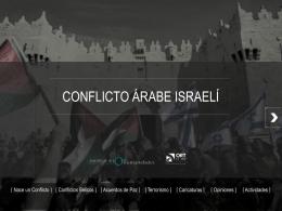 CONFLICTO ÁRABE ISRAELÍ - ORT Argentina