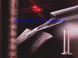 Materiales de Laboratorio - Colegio Andrés Bello -