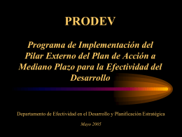 Iniciativa para la Implementación del Pilar