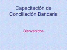 Conciliación Bancaria
