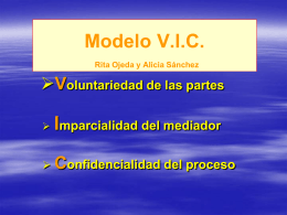 Módulo 2. LA CULTURA DE LA MEDIACIÓN.
