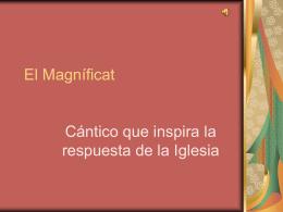 El Magníficat - Sitio de la Vicaría de Pastoral