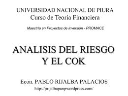 Introducción a las Finanzas y el Cálculo del Costo