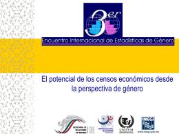 Tercer Encuentro Internacional de Estadísticas de