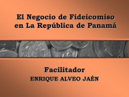 El Fideicomiso - BIENVENIDA