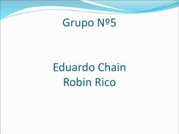 Grupo Nº1 Carlos De La Cruz Sergio Plata Robin