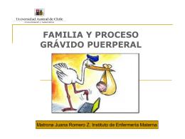 FAMILIA Y PROCESO GRÁVIDO PUERPERAL