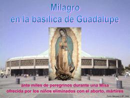 Milagro en la basílica de Guadalupe - Libero -