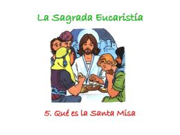 ¿Qué es la Santa Misa?