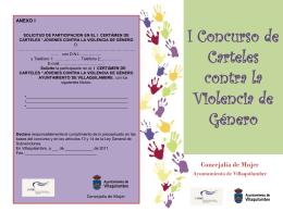 I Concurso de Carteles contra la Violencia de
