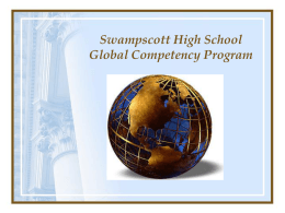 Global Competency Program (GCP)