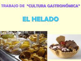 Trabajo de cultura gastronómica