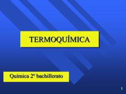 TERMOQUÍMICA - Física y Química Castillodeluna`s