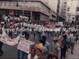 BREVE RESEÑA HISTÓRICA DE FECODE