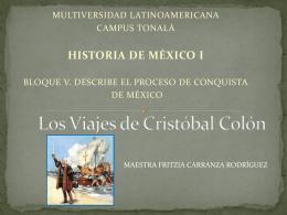 Los Viajes De Cristóbal Colon