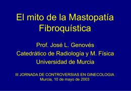 El mito de la Mastopatía Fibroquística