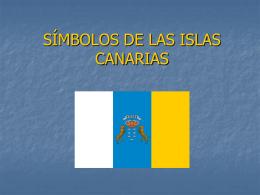 SÍMBOLOS DE LAS ISLAS CANARIAS