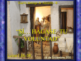 Adviento IV domingo -B-