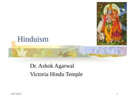 Hinduism - Victoria Multifaith