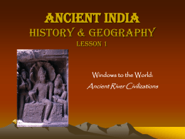 Ancient India History & Geography