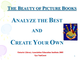 Studying & Creating Picture Books