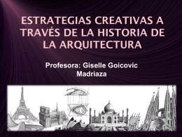 ESTRATEGIAS CREATIVAS A TRAVÉS DE LA HISTORIA DE