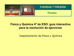 Física y Química 4º de ESO: guía interactiva para
