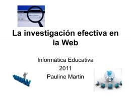 Uso ético de información encontrada en la Web