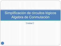 Circuitos Lógicos Combinatorios