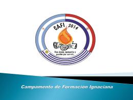 Campamento de Formación Ignaciana