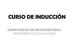 CURSO DE INDUCCIÓN