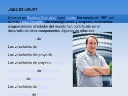 1. Introducción a linux y a gambas