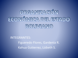 Objetivos del Modelo Económico