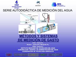 SERIE AUTODIDÁCTICA DE MEDICIÓN MÉTODOS Y