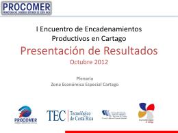 PROCOMER - TEC - Tecnológico de Costa Rica