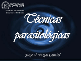 Técnicas coproparasitológicas