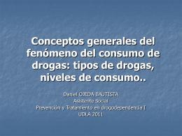Conceptos generales del fenómeno del consumo de