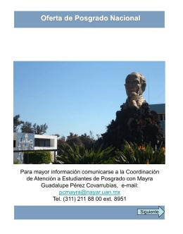 Diapositiva 1 - Universidad Autónoma de Nayarit
