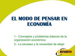 TEMA 1: Conceptos y problemas básicos de la