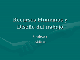 Recursos Humanos y Diseño del trabajo