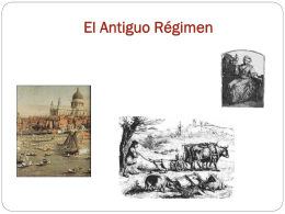 El Antiguo Régimen