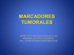 MARCADORES TUMORALES - Sistema de Gestión de