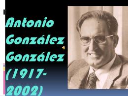 Antonio González González