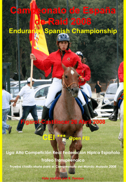 Campeonato de España de Raid 2008