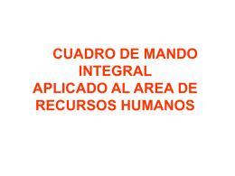 METODOLOGIA DE INDICADORES DE GESTIÓN.
